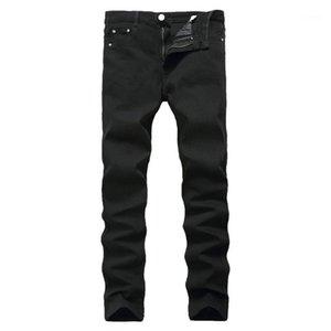 Новые приезда джинсы для мужчин Дешевые джинсы Китай Stereigh Regular Fit Denim брюки классический эластичный черный цвет размером от 28 до 421