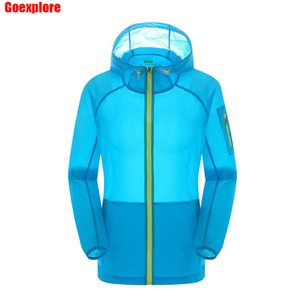 Dropshipping Sports Camping Fishing Thin Quick Dry Jacket Unisex Lightweight Coat Windproof Breawthable women summer windbreaker Q1202