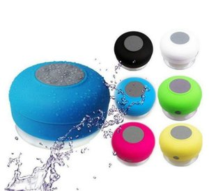 Mini Speaker Bluetooth Speaker With Large Suction Cup Waterproof Bluetooth Speakers Portable Home Car Wireless Speakers Gifts BWB3005