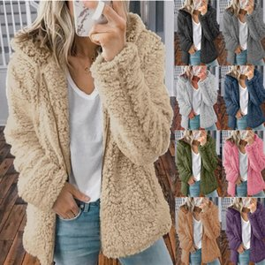 Fashion and comfortable Hooded woollen zipper coat for women winter autumn Size from S to 3XL SY201026 multiple color for options