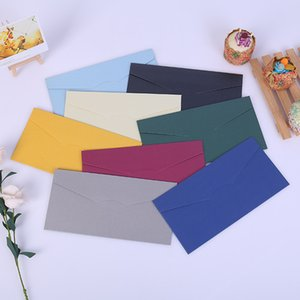 Bank Card VIP Card Cover No. 5, No. 7 Pearlescent Paper Envelope Western-style High-end Invitation Letter Solid Color Envelope Can Be Custom