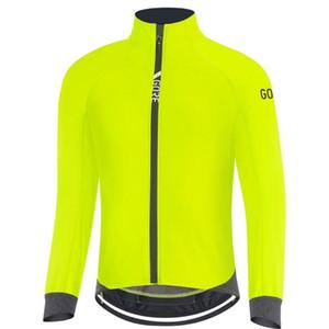 GORE 2020 Jersey de ciclo para el invierno polar y al aire libre a prueba de viento ropa de abrigo camino de MTB hombre ropa moto Gore