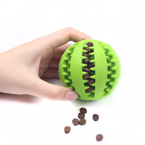 Pet Dog Toys Funny Interactive Elasticity Ball Dog Chew Toy For Dog Tooth Clean Ball Of Food Extra-tough Rubber Ball