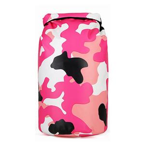 Amazon Fashion Surf Drifting Camouflage Waterproof Bucket Bag Wholesale Outdoor OEM Custom