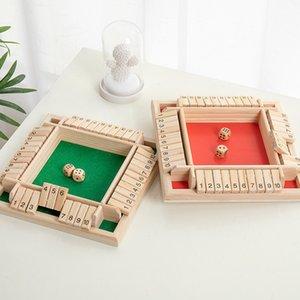 عدد فليب لعبة ألعاب متعددة اللاعبين لعبة خشبية التعليم المبكر اللعب الرقمية الساخنة بيع هدية من الطفل