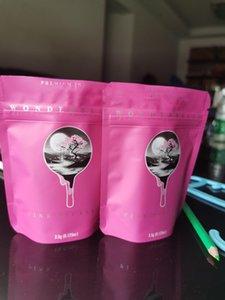 2020P Premium Крытый розовый Pink Bondrbrett Герметичный Mylar Bag Citchency Editbles Пластиковая Застежка-молния Упаковка Сухой Терб Табак Цветок WMTECU