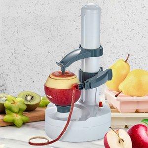 Electric Peelly Fruit Овощные Овощатель Creative Home Многофункциональный Автоматический Электрический Картофель Apple Fruit Peeler Безопасность Y1204
