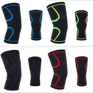 Four Late Side Elastic Knee Protector All'aperto Sport Guida di pallacanestro Collision Evitanciante Kneepad 4 Taglie Kneecap Slip Strip 4 5QH m2