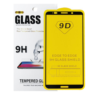 Hot Sell 9D Tempered Glass Screen Protector 9H For Huawei Mate10 Pro Mobile Phone Screen Protector