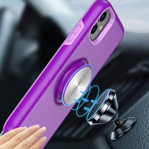 iPhone 12 Phone Cases iphone Pro Max Samsung Shockproof Phone Case The New Car Holder Two-in-one Mobile Phone Case Stand Back Cover