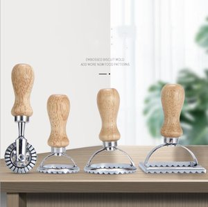 Stampi per biscotti in acciaio inox Cake Cutter Stampi da forno Stampi Cucina Dim Sum Sum Pastry Dumpling Crosta Muffa Forniture da cucina 5 Stili DHE3895