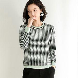 Hengyuanxiang 2020 Nouvelle version coréenne de la chemise de bas à manches longues à manches longues Pull supérieur pour l'usure des femmes en vrac