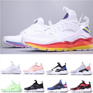 Nuevas zapatillas de correr de Huarache Ultra Deportes para hombres Triple Triple Trainer blanco para hombre Sneakers Classic Designer Zapatos de calcetines Tamaño 5-11