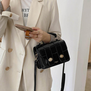 Luxury Handbag Solid 2021 Bags Hand Shoulder Bag Designer Color Crossbody Small Fashion Women Retro Tote Flap Bag Square Women Gjxrn
