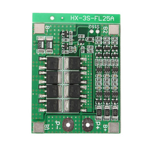 3S 12V 11.1V 12.6V 25A Balance 18650 Li-ion Lithium Battery PCB Protection Board