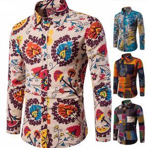THEFOUND New Casual Mens Formal Shirt Men Italian Dress Designer Casual Luxury Shirts Regular Fit