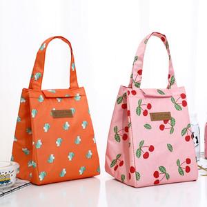 Wasserdichter Picknick Rucksack Oxford Tuch Rechteckige Paste Einkaufstasche Wärmeerhaltung Lunchbox Gitter Muster Outdoor 5 8JSA L2
