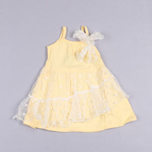 Clearance sale Suspender Dress Lace Dresses Child Clothes Kids Summer Dress Girls Polka Dot Dresses Fashion Bowknot Princess Dress Z130