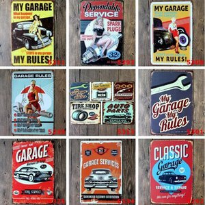 Custom Metal Tin Signs Sinclair Motor Oil Texaco poster home bar decor wall art pictures Vintage Garage Sign 20X30cm DHA288