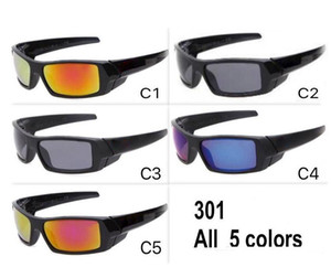New Hot Style Gas Can da sole Occhiali da sole da sole Occhiali da sole Outdoor Sport GOOGEL GLASSINE GOOGEL FAST SHAIL MIX colore