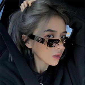 У Йифана с 2020 Новый крутой GW Личность Net Red Street Glasses Женщина Sip Hip Hop Солнцезащитные очки Человек