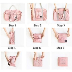 Multifunction Folding Luggage Storage Bags Large Capacity Waterproof Tote Bag Travel Clothes Pouch Foldable Handbag jllEzd xmh_home