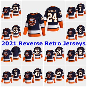 2021 Retro Retro New York Islanders Jerseys 13 Mathew Barzal Jersey 27 Anders Lee Matt Martin Josh Bailey Cal Clutterbuck Custom Steinsted