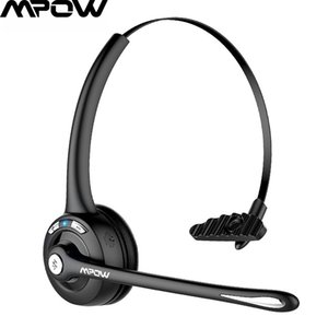 Mpow Pro Wireless Bluetooth 5.0 Business Headphone Office Crystal Clear Headphone With Microphone For Driver Call Center Online Y1128
