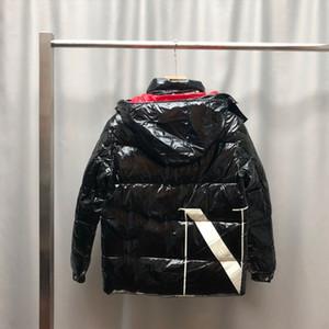 Cappello rimovibile Tenere il calore Anatra Down Coat Winter Down Piumino Parka di alta qualità per uomo Black Womens Piumino con cappuccio Cappotto con cappuccio Moda