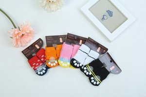 for dog warm socks Hot winter pet Cute Puppy Dogs Soft Cotton Anti-slip Knit Weave Sock Skid Bottom cat Clothes 4pcs set