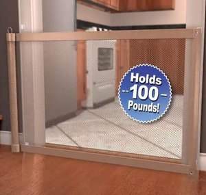 Magic-gate Dog Pet Fences Portable Folding Safe Guard Indoor And Outdoor Protection Safety Magic Gate bbyTVC yh_pack