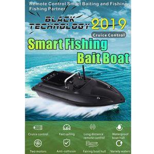 GlomoryStar RC Bait Boat Fish Finder Velocità Crociera Crociera Ship Ship Strong Vento Resistenza al vento Bait Boat Telecomando Cruise Smart Pesca