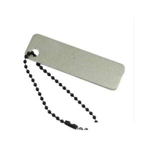 Pocket Kitchen Knives Sharpener With Keychain Diamond Knife Sharpening Stone Knife Sharpener 1Pc R7Z6N