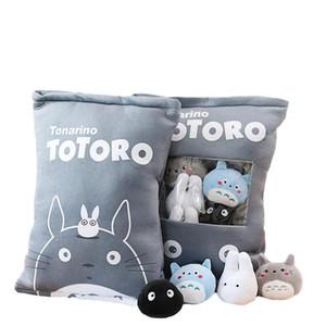 A Bag Of Totoro Plush Toys 8 Pcs Plush My Neighbour Totoro Soft Doll Stuffed Cartoon Anime Animal Kids Toys Totoro Pillow wmtFUc mywjqq