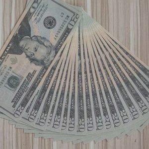 US Dollar Wholesale Realistic Pretend Money Paper 20  50  100 Dollar Copy Banknote Prop Money 01