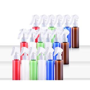 Tetik Doldurulabilir Ambalaj Şişe DWD3041 Sprey Mist Plastik şişeler Ambalaj 100ml Kare Omuz Renkli Sprey Şişe Kozmetik