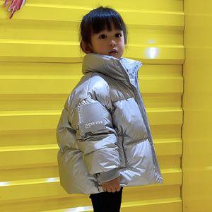 Olekid 2020 Bambini Cappotto invernale Versione coreana impermeabile lucido piumino per ragazze 3-12 anni bambini ragazzi adolescenti parka