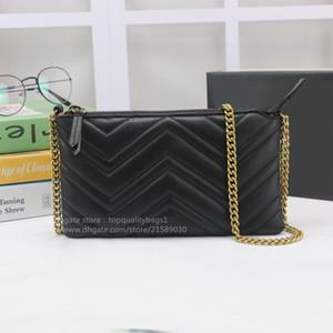 새로운 뜨거운 판매 패션 정품 가죽 최고 품질 여성 Luxurys 디자이너 어깨 가방 디자이너 클래식 편지 키 체인 가방 무료 선박