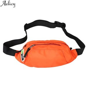 Designer-Aelicy Solid Chest Bag Unisex Nylon Inclined Shoulder Bag Outdoor Sports Style Stylish Waist Fashion Zipper Messenger