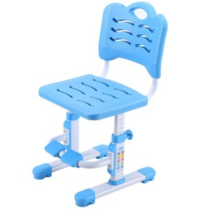 Multifunction Children Learning Chair Non-slipable with Footrest Student Writing Chair Lifted Adjustable Stable Kids Seat Stool J1204