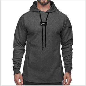 Европейская и американская мода бренд мужской осенний мужской свитер свободные сплошные цвета пуловер толстовка работает спортивная куртка мужчины