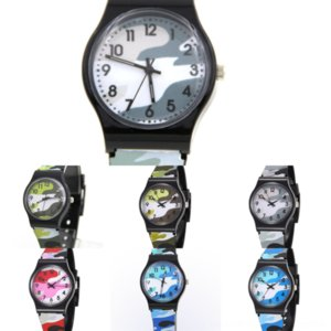EsxRj Luxury Camouflage u8 wrist watch phone mens Children round watch dial crystal watch sapphire mirror Rubber