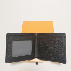 Sin caja para hombre de lujo de lujo billetera 2020 nuevos hombres de cuero con carteras para hombres monedero masculino billetera