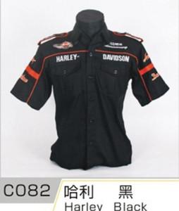 Été pour Chevrolet Motorcycle Auto Race Shirts Shirts à manches courtes Moto GP Mode Collier Coton Chemise