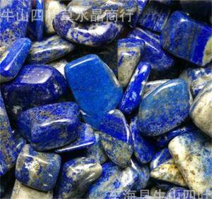 Fishbowl Décorer des pierres naturelles Fishbowl Charcute irrégulière Rough Lapis Lazuli Miniature Rockery Rockery Roquent Réservoir d'eau Chaude 2SYSY M2