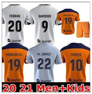 2021 Fußball Jersey Männer Kinder Kit Guedes GameIro Fútbol Rodrigo M. Florenzi M.Gómez Football Shirts Ferran C.Soler Gaya Parejo Gameiro