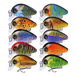 Minnow Pesca LURE 28.5mm 1.95G Mini CrankBaits Pesca Artificiale Bait Hard Bait Swimbait Wobbler Esche Attrezzatura da pesca invernali Q1208