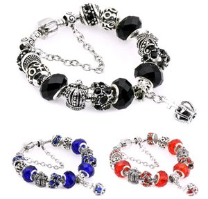 New Design DIY Crystal Beads Charm Bracelets European and American Fashion Jewelry Accessories Women Beaded Bracelet for Sale 11colors