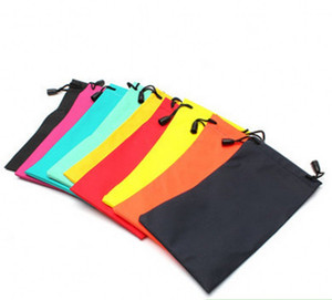 Multi-Functional Soft Cloth Cleaning Eyewear Sunglasses Bag Pouch Dustproof Glasses storage Optical Glasses Case Container EWB3462