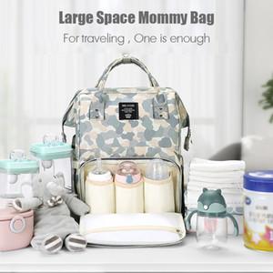 MissAbigale Fashion Mummy Maternity Nappy Bag Brand Large Capacity Baby Diaper Bag Travel Backpack Designer Nursing Bag For Mom LJ201013